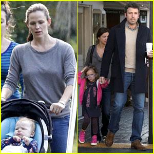 Jennifer Garner & Ben Affleck: Separate Morning Coffee Runs!