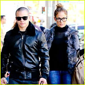 Jennifer Lopez & Casper Smart: Beverly Hills Shoppers!