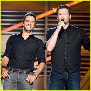 Blake Shelton & Luke Bryan - ACM Awards 2013 Opening!