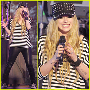 Avril Lavigne: Much Music Video Awards Rehearsal!