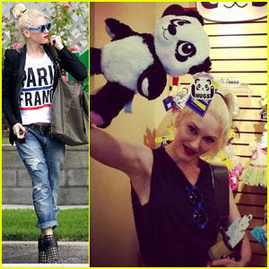 Gwen Stefani Runs Errands After Build-a-Bear Day with the Boys