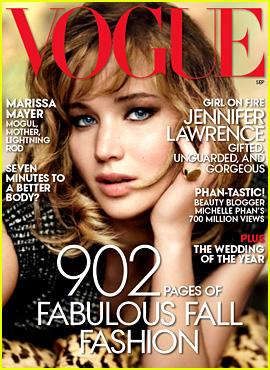 Jennifer Lawrence Covers 'Vogue' September 2013