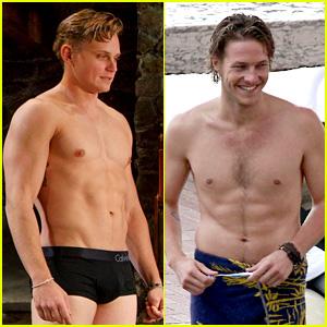 Billy Magnussen & Luke Bracey: 'Fifty Shades of Grey' Movie Contenders!