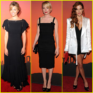Michelle Williams & Dianna Agron: Whitney Museum Gala 2013