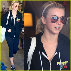 Julianne Hough Gets In Some Pre-New Year's Shopping