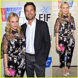 Diane Kruger & Joshua Jackson: Hollywood Stands Up To Cancer Event!