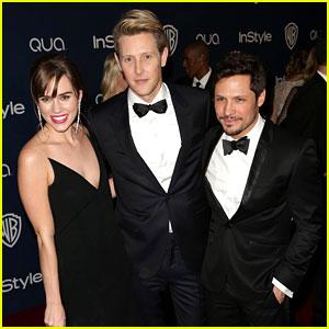 Gabriel Mann & Nick Wechsler - InStyle Golden Globes Party 2014