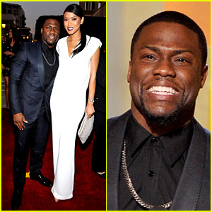 Kevin Hart Takes Girlfriend Eniko Parrish to the NAACP Image Awards 2014!
