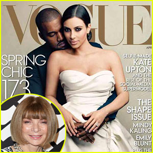 Vogue's Anna Wintour Addresses Kim Kardashian/Kanye West Cover & All the Related Controversy