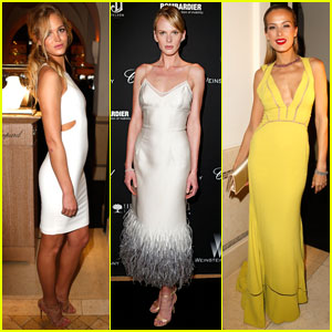 Erin Heatherton & Anne V: Pre-Oscars Party with Karlie Kloss & Petra Nemcova!
