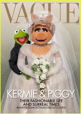 Miss Piggy & Kermit Spoof Kim Kardashian's 'Vogue' Cover - See it Here!