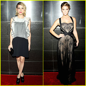 Emma Roberts & Nina Agdal Stun at New Yorkers for Children Spring Gala!
