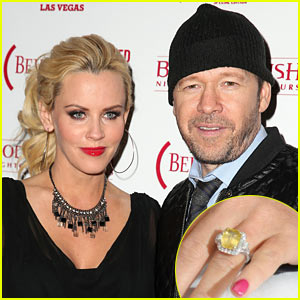Jenny McCarthy & Donnie Wahlberg Engaged, Announce News on 'The View' - See Her Engagement Ring Here!