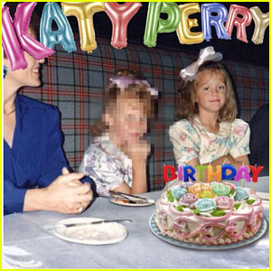 Katy Perry's 'Birthday' Single Cover Art is an Amazing #TBT Pic!