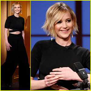 Jennifer Lawrence Confesses She Threw Up at Madonna's Oscars After Party on 'Late Night'!
