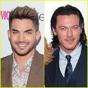 Adam Lambert & Luke Evans Are Handsome Presenters at Glamour Women of the Year Awards!