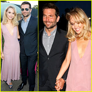 Bradley Cooper & Suki Waterhouse Look So Happy Together at Serpentine Gallery Party