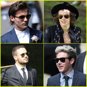 One Direction Attends the Wedding of Louis Tomlinson's Mom!