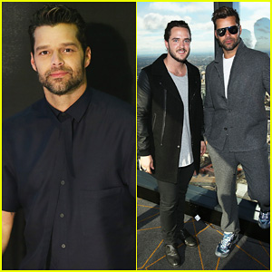 Ricky Martin Attends Media Call After Getting Together with his 'The Voice' Australia Finalist for Grand Finale Event!