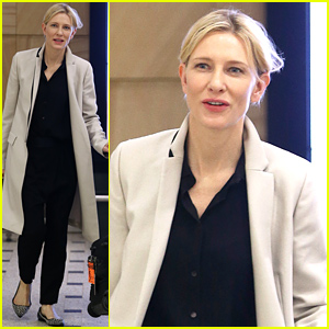 Cate Blanchett Returns to Australia After 'Jungle Book' Casting News!