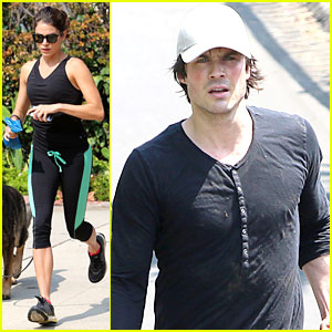 Ian Somerhalder & Nikki Reed Go Hiking After 'Baby' News!