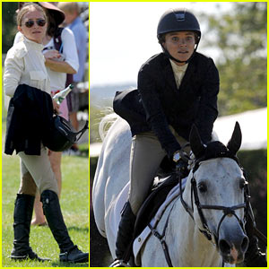 Mary-Kate Olsen Adds Horseback Riding to Her Resume - See Her Competition Pics!