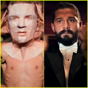 'Shia LaBeouf' Is a Cannibal in Bizarre Theatrical Piece - Watch Now!