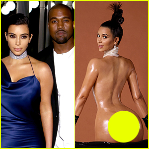 Kanye Wests Posts His Approval of Kim Kardashian's Nude Magazine Cover