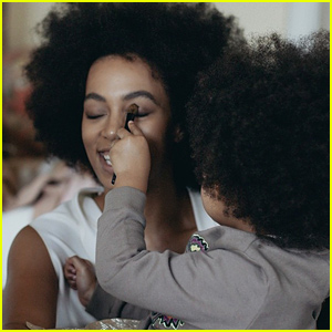 Solange Knowles Shares the Cutest Photo for Blue Ivy Carter's 3rd Birthday!