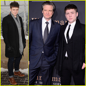 Taron Egerton On 'Kingsman' Co-star Colin Firth: 'He's A Great Man'