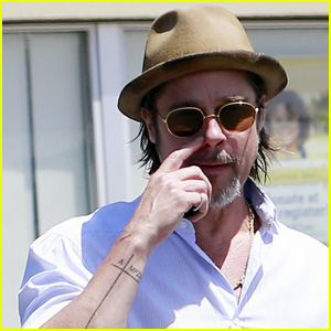 Brad Pitt's 'New Tattoo' Is Really Two Years Old, At Least