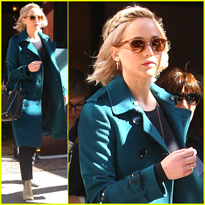 Jennifer Lawrence Takes a 'Passengers' Filming Break in NYC!