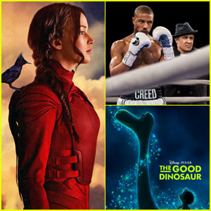 'Mockingjay' Beats Out 'Creed' & 'The Good Dinosaur' to Top Thanksgiving Weekend Box Office!