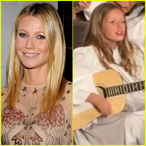 Gwyneth Paltrow Shares Video from Apple's Music Recital