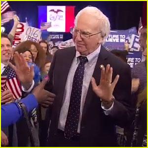 Bernie Sanders Meets 'Curb Your Enthusiasm' in Larry David 'SNL' Sketch - Watch Now!