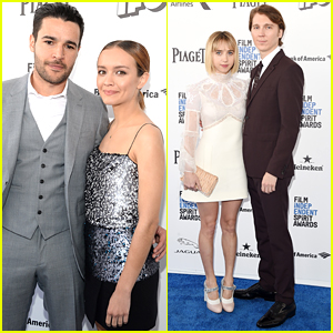 Olivia Cooke & Boyfriend Christopher Abbott Step Out For Independent Spirit Awards 2016