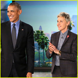 President Obama Tells Ellen About Malia Going Off to College