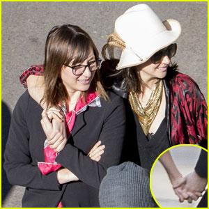 Shailene Woodley & Isidora Goreshter Hold Hands on Valentine's Day