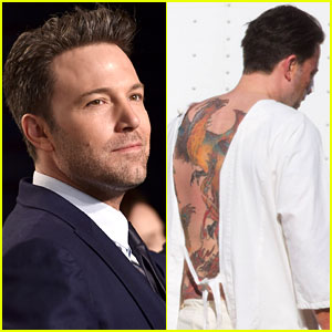 Ben Affleck Says His Massive Back Tattoo is Actually Fake!