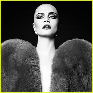Cara Delevingne Makes Surprise Return to Modeling With Saint Laurent Campaign
