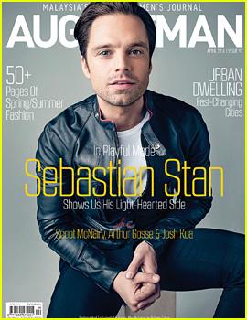 Sebastian Stan Covers 'August Man Malaysia' April 2016 (Exclusive)