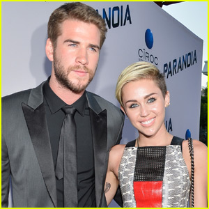 Liam Hemsworth Says He's Not Engaged to Miley Cyrus