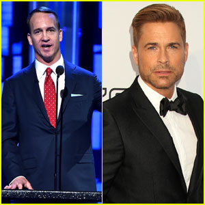 Peyton Manning Helps Roast Rob Lowe for Comedy Central