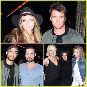 Luke Hemsworth, Malin Akerman & More Live It Up With Hudson For Red Hot Chili Peppers Concert!