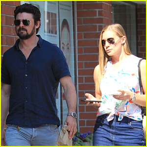 Karl Urban & Katee Sackhoff Couple Up for Afternoon Date