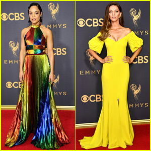 Westworld's Tessa Thompson & Angela Sarafyan Are Drop Dead Gorgeous at Emmys 2017!