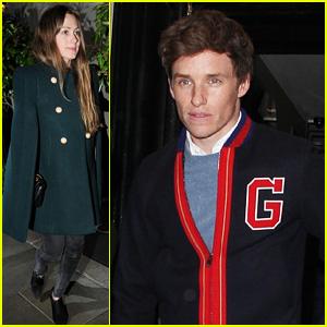 Eddie Redmayne Enjoys a London Date Night with Wife Hannah
