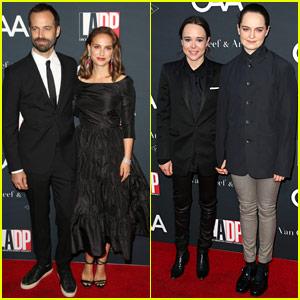 Natalie Portman & Ellen Page Lend Support at LA Dance Project Gala
