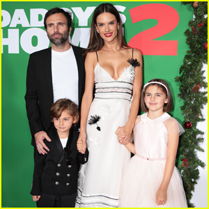 Alessandra Ambrosio Brings Family to 'Daddy's Home 2' Premiere!