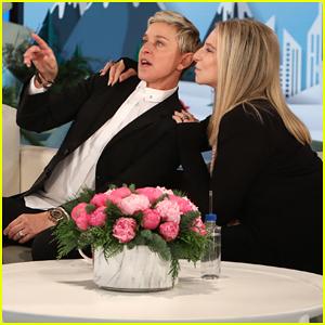 Barbra Streisand Tells 'Ellen' Her Current Favorite Pop Stars are Beyonce & John Mayer!